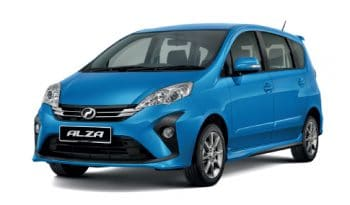 Perodua Alza full